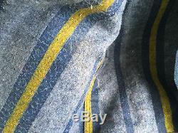 Vintage Men's LEE STORM RIDER Denim Jacket Blanket Lined USA Jean 46R