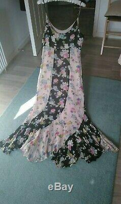 Vintage Moschino Italian Designer Dress Fully Lined & Side Zip Nwot
