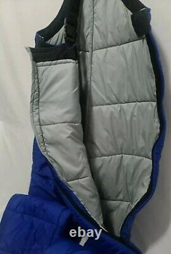 Vintage REI Lined Bib Pants Mens Size Large Mountain Climbing Blue Made in USA