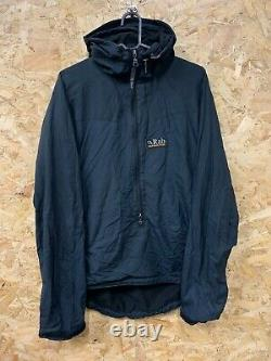 Vintage Rab Vapour-Rise Smock Jacket Fleece Lined Made in Sheffield Size S