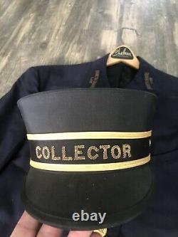 Vintage Railroad Train Ticket Collector Uniform Group North Shore Line Chicago