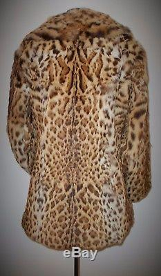 Vintage Real Fur Jacket In Good Used Condition Soft And Supple Fully Lined