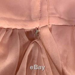 Vintage Victorian Inspired Pink Dress Size Small