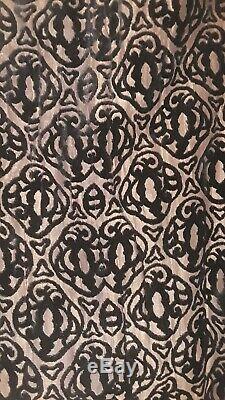 Vintage velvet brocade silk lined opera Cape