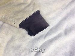 Vtg 50s 2 Tone Sweatshirt Sun Fades Lined After Hood Hoodie T Shirt Tee 40s V