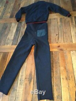 Vtg Patagonia Deep Pile Fleece Lined Jacket & High waist ZIP OUT CROTCH Pants L