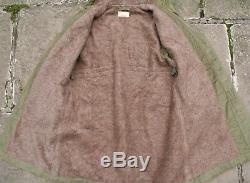 Vtg Ww2 Korean Usn N-2 N-1 N140 Hooded Alpaca Wool Lined Deck Parka Coat 38/40