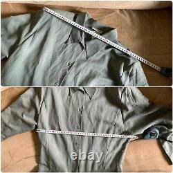 Vtg costume MARIMEKKO SUOMI-FINLAND skirt+dress size L line coton