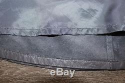 Women's Vintage MODISSA A-line Skater Grey Soft 100% Real Leather Skirt UK6 UK8