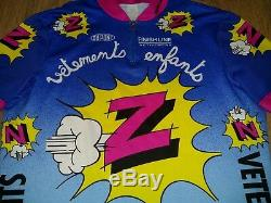 Z Vetements Enfants Dupont Finish Line vintage cycling jersey size M
